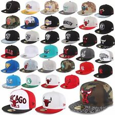 New Era Cap 59FIFTY Fitted NEW YORK YANKEES CHICAGO BULLS Superman Hornets etc