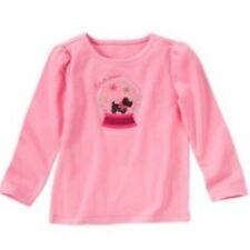 NWT Gymboree Girls Cheery All The Way Pink Snow Globe Top Size 3 4 5 6 8