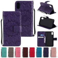 Flip Leather Wallet Stand Sun Flower Case Cover For Apple iPhone X 10 8 7 6SPlus