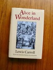 Alice In Wonderland & Through The Looking Glass by Lewis Carroll w/ Tenniel art