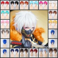 Fashion UNISEX Male Female Straight Short Hair Wig Cosplay Party Anime Full Wig