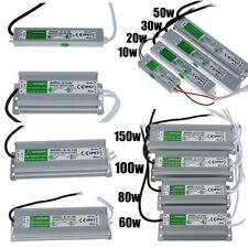 Waterproof IP67 AC 110-260V To DC 12V Transformer LED Lights Power Supply Driver
