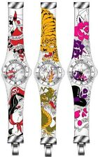 New Toy Watch Jelly Tattoo Themed Collectors Watch in Box