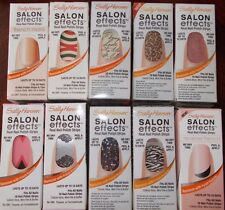 Sally Hansen salon effects real nail polish strips lasts up to 10 days free ship