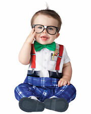 Nursery Nerd 1950s Old School Boy Toddler Baby Boys Infant Costume