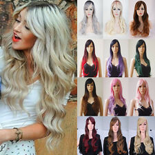 Wigs For Womens Girls 100% Heat Resistant Synthetic Hair Costume Wigs Cosplay u