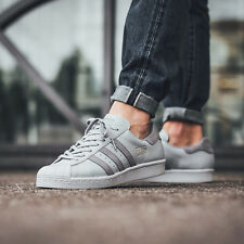 Adidas SUPERSTAR 80S Grey Size 7 8 9 10 11 Mens Shoes BZ0208