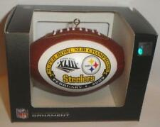 PITTSBURGH STEELERS SUPER BOWL 43 CHAMPS Champions Christmas ORNAMENT #2