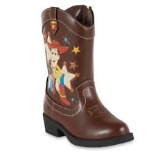 NEW KIDS TODDLER BOYS DISNEY TOY STORY BOOTS BROWN SIZE 9 8 6 10  WOODY WESTERN