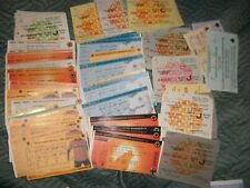 WOLVERHAMPTON WANDERERS WOLVES HOME TICKETS 1971 to 2004  £1.75 Each  post free