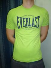 EVERLAST - T-SHIRT UOMO - 14EV021J29-9600 - STRIKE YOUR BALANCE - VERDE ACIDO