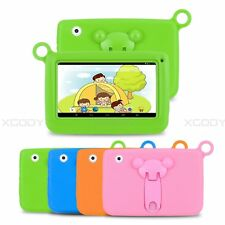 7'' Kid's Tablet PC Quad Core 8GB HD Android 4.4 Dual Camera WiFi Children Gift