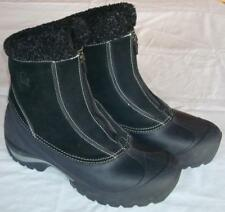 SOREL CRESTWYND THINSULATE Leather PACS WATERPROOF ZIPPERED SNOW BOOTS Womens 10