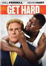 Get Hard (DVD, 2016) Will Ferrell Kevin Hart Widescreen Brand New Sealed