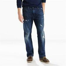 NEW MENS LEVIS 569 LOOSE STRAIGHT LEG BLUE JEANS 32 34 36 38 42 ROOM IN THIGH