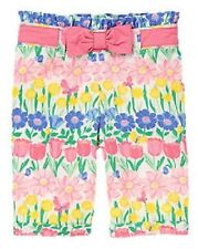 Gymboree NWT Girls All Ruffled Up Floral Cuffed Pants Size 0-3 3-6 6-12 12-18 M