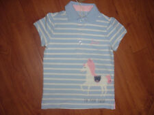 BNWT GIRLS JOULES JNR MOXIE THE MANE EVENT HORSE PONY POLO TOP SHIRT AGE 3-4 YRS
