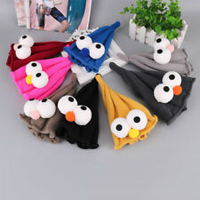 Children's Caps Baby Hat Warm Knitted Hip Hop Child Cap Big Eyes Beanies