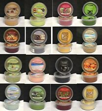 2 Yankee Candle SCENTERPIECE Scented Wax EASY MELTCUPS 2 Melt Cup Lot - CHOICES