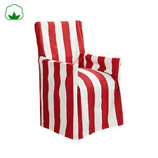Scarborough Cotton Striped 100% Cotton Director Chair Cover Outdoor Indoor