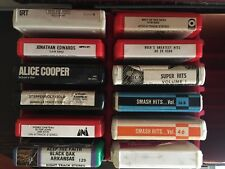 Vintage 8 Track Tapes Early 1970's Rock Various Lots Buyers Choice Buy & Save $$