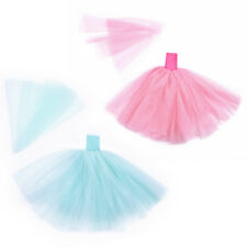 Dolls Clothes Dress Outfit Handmade Strapless Princess Wedding Veil Party Dress