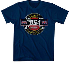 T-Line Men's Bsa Motorcycles Classic Motorcycles Graphic T-Shirt
