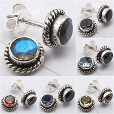 925 Sterling Silver Antique Style Stud Post Earrings ! Factory Direct Jewelry
