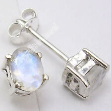 925 Sterling Silver Prong Setting STUD Earrings ! Affordable Wedding Jewelry