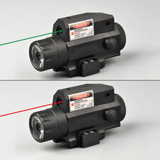 Combo 300LM CREE LED Flashlight&Red/Green laser sight For Rifle Pistol 20mm rail