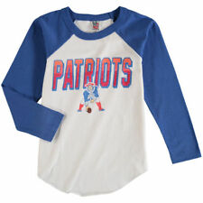 New England Patriots Junk Food 17 Youth Raglan T-Shirt