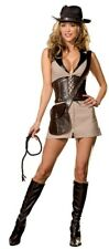 NEW Sexy Female Indiana Jones DELUXE ADULT TREASURE HUNTER COSTUME Sizes M, L