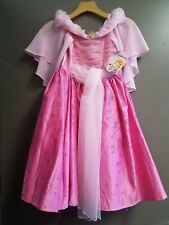 New Disney Store Deluxe Sleeping Beauty Aurora Costume Gown Dress Girls Size 4