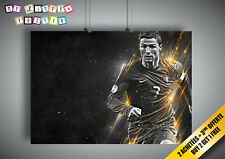 Poster CRISTIANO RONALDO FOOTBALL CR7 PORTUGAL Wall Art