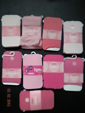 NWT Gymboree All Shades of Pink Tights 3-5 8-10 4 9