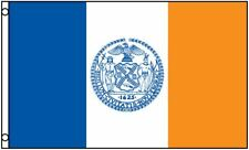 New York City Flag 3 x 5 Foot NYC NY 3x5 Indoor Outdoor