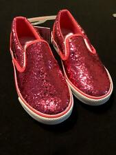 NWT Gymboree Girls Pink Glitter Sparkle Sneakers Shoes Size 10 11 13 & 2