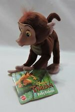 "Disney Mattel Tarzan Baby Baboon Plush Vinyl Face Stuffed Animal 7"" Toy Arcotoys"