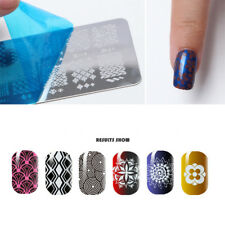 Nail Art Stamping Plate Stamp Polish Stamper Printing Image Template Manicure
