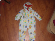 BNWT JOULES BABY BOYS GREY LION WINTER PRAMSUIT AGE 9-12 MTHS.RRP £40 LAST 1!!