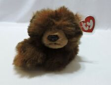 Ty Classic Baby Paws Bear Brown Plush Stuffed Animal Toy 1996 Black 12""