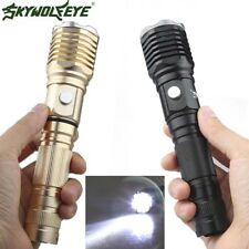 Rechargeable Flashlight T6 LED Torch 18650 10000Lm 3-Mode Tactical Hiking Torch