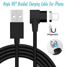 Nylon Braided Magnetic Quick Charger Cord IOS USB Data Sync Cable For iPhone 8