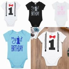 Baby Cotton Clothes Short Sleeve Romper Boys Outfits Bodysuit Jumpsuit NEW