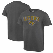Wake Forest Demon Deacons Campus T-Shirt - Charcoal