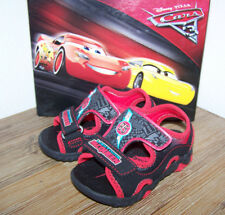 Disney Cars Lightning McQueen LIGHT UP SANDALS Shoes Baby Boys Size 5.5 New
