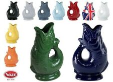 Wade Original Gluggle Fish Jug Pitcher Many Colours, XL Large or Medium