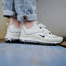 Nike Air Max 98 Sneakers White Size 6 7 8 9 Womens Shoes New