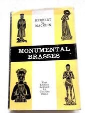 Monumental Brasses Herbert Macklin 1966 Book (ID:23960)