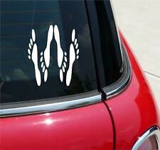NAUGHTY SEX FEET SEXUAL NASTY GRAPHIC DECAL STICKER ART CAR WALL
